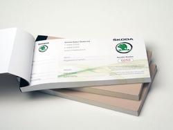 Voucher Book Printing Services