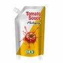 Tomato Ketchup Spout Pouch