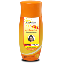 Umbrella Sunscreen SPF40 Solution 100 mL