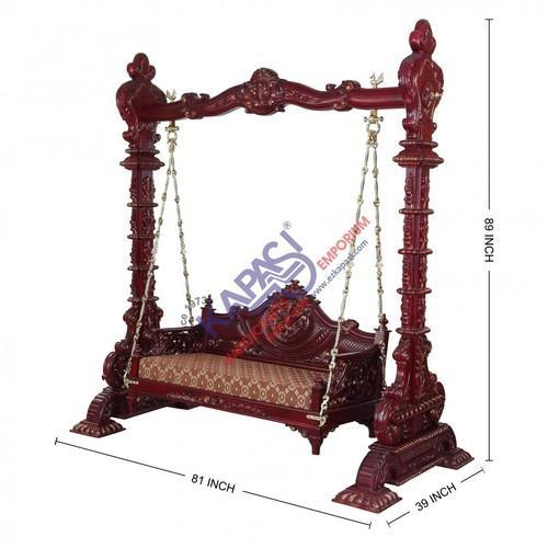 Wooden Indoor Swing At Rs 285000 Piece Lakdi Ke Jhoole
