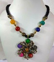 Brass Fashion Necklace