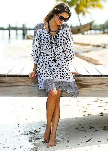 ca1e11fdbb Sheer Beach Kaftan Cover Up at Rs 650 /piece | Beachwear Kaftan | ID ...