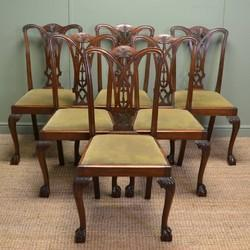 Natural Standard Wooden Chairs Set