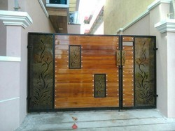 Swing Designer Mild Steel Gate