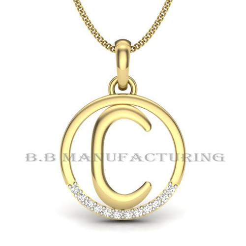 14k yellow gold diamond alphabet c pendant c letter jewelry fancy 14k yellow gold diamond alphabet c pendant c letter jewelry aloadofball Image collections