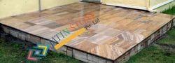 Rainbow Sandstone Flooring