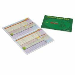 Vinex Cricket Score Book