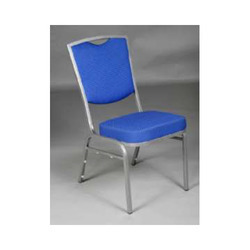Blue Color Steel Chair