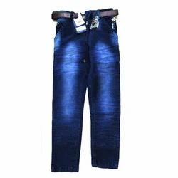 Boys Kids Faded Jeans