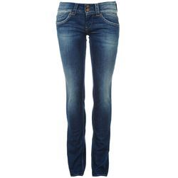 Dark Blue Casual Ladies Stylish Jeans