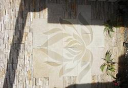 3D Lotus, Buff Sandstone Cladding
