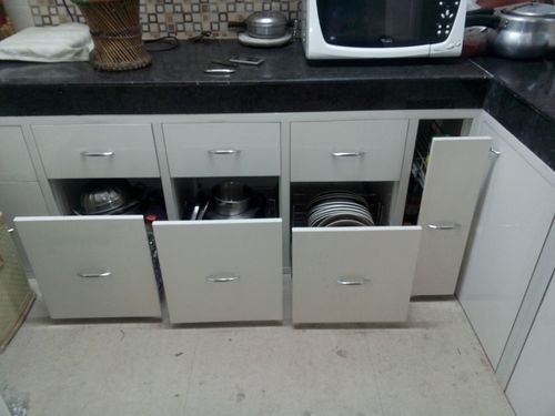 Sharma Decor Service Provider Of Pvc Modular Kitchen Installation