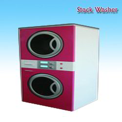 Industrial Coin Operated Stack Washing Machine