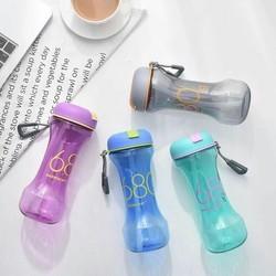Plastic Dumbbell Bottle, Shape: Dumbbell