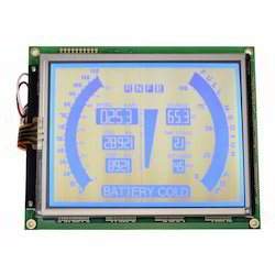 Blue LCD Module with Touch