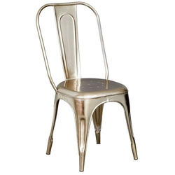 Cafe Metal Tolix Chair, for Restaurant, Size: 16x16x36 Inch
