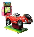 Imported Kiddy Ride 3D Video Car