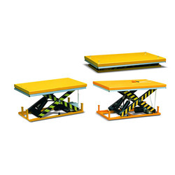 HW-Series Double Scissor Lift Table