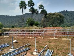 100 kw Module Mounting Structure -