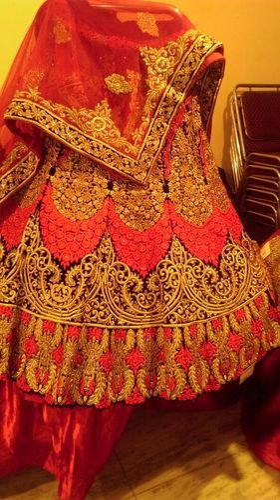 88a5386948420 Retailer of Ladies Designer Bridal Lehenga   Ladies Designer Lehenga ...