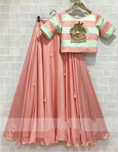 fe549e2b03f8cd Pink Kids Designer Western Wear