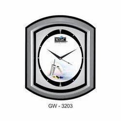 Plastic Fancy Wall Clock