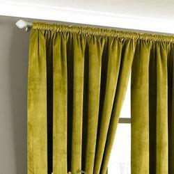Plain Velvet Curtain