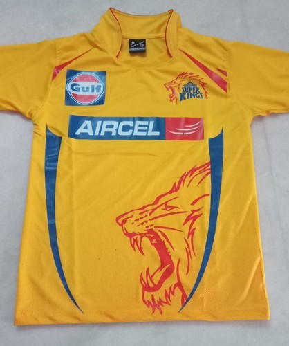 af4d1e21 Chennai Super Kings Ipl Jersey at Rs 250 /piece | Sports Wear | ID ...