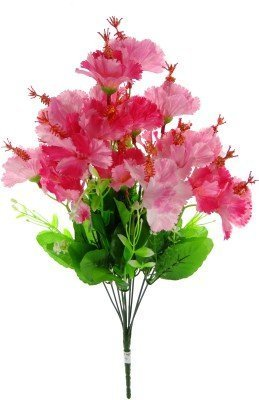 Fourwalls 46 Cm Tall Artificial Hibiscus Flower Bunch At Rs 95bunch