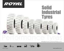 Non- Marker Solid Press- On Tyres