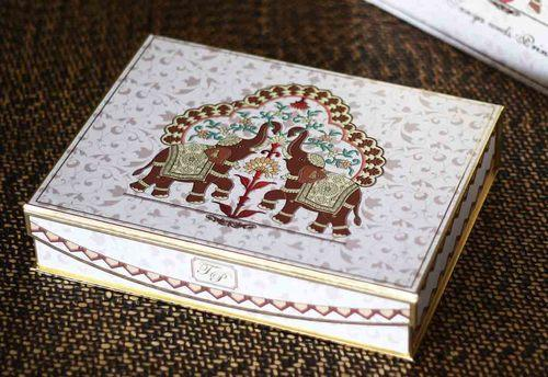 Send Wedding Gifts Online India: Designer Boxed Wedding Invitations