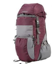 Bleu Light Weight Foldable Rucksack Bag Purple & Grey