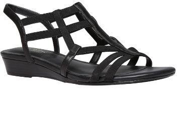 49b8b3e39a55 Naturalizer Black Sandals For Women