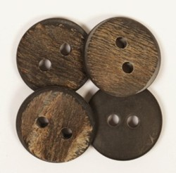 Brown Coconut Shell Button, Size/Dimension: 15mm To 25mm