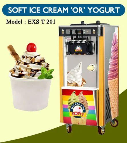 Soft Ice Cream Machine Soft Ice Maker Manufacturer From Vijayawada