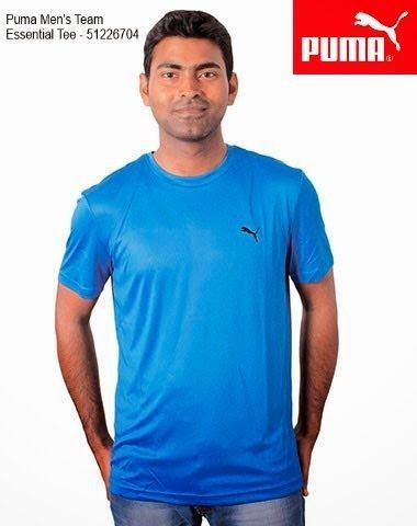 dea70be65fe T Shirts - Puma Round Neck Tshirts Manufacturer from Bengaluru