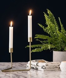 AIC Gold Candle Holder