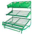 Supermarket Vegetable Racks