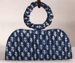 Indigo Printed Hand Bags