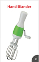 Plastic and SS hand blender, Packaging Type: Box