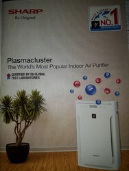 Activated Carbon ABS Plastic Indoor Air Purifier, Automation Grade: Automatic, Multi Color