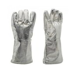 Aluminized Fireman Gloves
