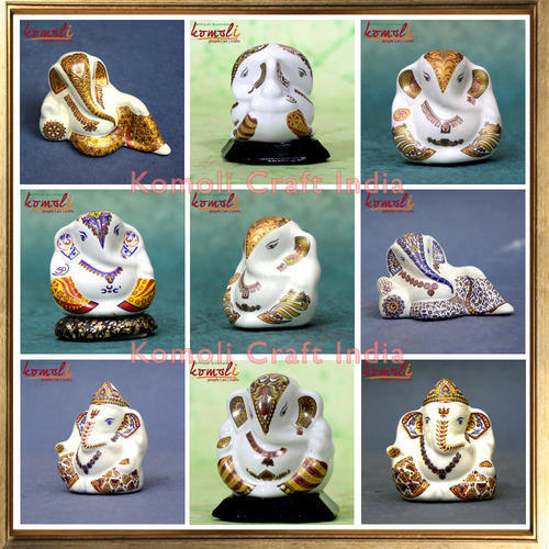 Ganesha Theme Products Dashboard Ceramic Ganesha