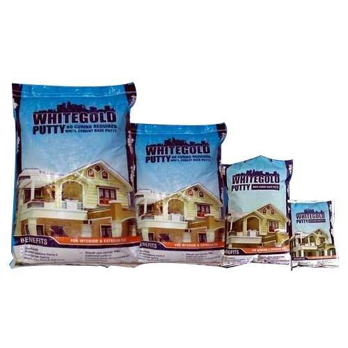 Whitegold White Cement Putty Powder,  Packing: 20 kg