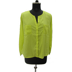 Light Green Ladies Shirt