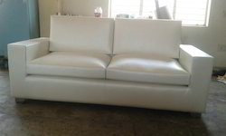 Leather Lining 2 Seater Sofa