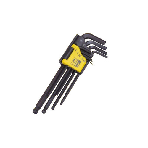 GB Tools Long Pattern Ball Point Hex Allen Key Sets 1206 1206020
