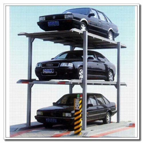 3 Level Stack Parking System Stack Parking System