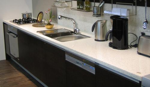 Acrylic Solid Surface Kitchen Top