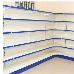 Corner Rack Metal Shelf